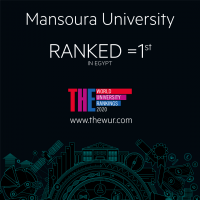 Mansoura University progresses in the British Times World University Ranking for 2020