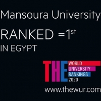 Mansoura University ranks 1st position in British Times for emerging economies 2020 classification